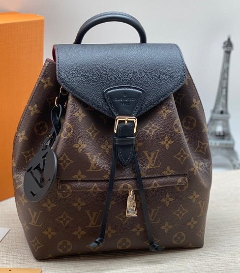 Pюкзак женский Louis Vuitton Montsouris PM монограм