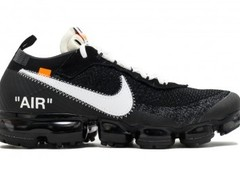 Nike Off-White Air Vapormax Flyknit 2018 черные