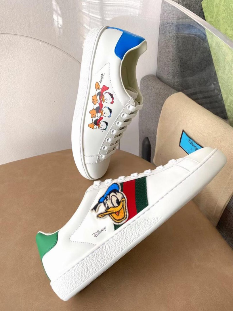 Женские кеды Gucci Ace Disney Donald Duck