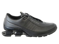 Мужские кожаные кроссовки Adidas Porsche Design Sport P5000 Bounce S4 Leather grey